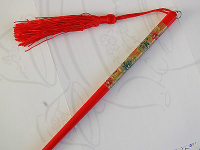 Japanese Color Rose Red Gold Chopstick Hair Stick Pin Chinese New Year Party