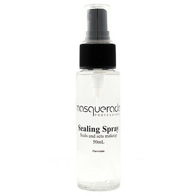 Sealing Spray, 50ml Bottle, by Masquerade (Sets and Preserves Makeup)