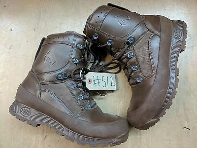 Haix MTP Army Issue Hiking Brown Leather Waterproof GoreTex Boots 9M UK #512