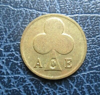 Ace Clubs Bikers Cafe Coin : London Rockers / Racers Collector Token