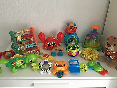 Baby Bundle Of Toys Fisher Price VTech Little Tikes Bright Stars & More
