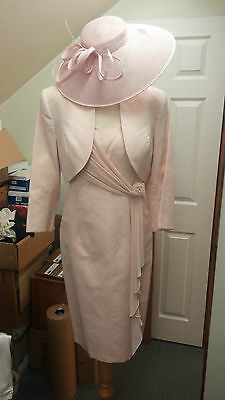 SALE Dress Code Mother of the Bride Peach Sparkle Size 16 BRAND NEW RRP £550