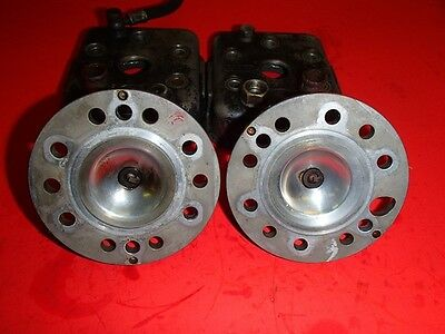 race go kart shifter rotax engine 256 cylinder head set with inserts rotary valv