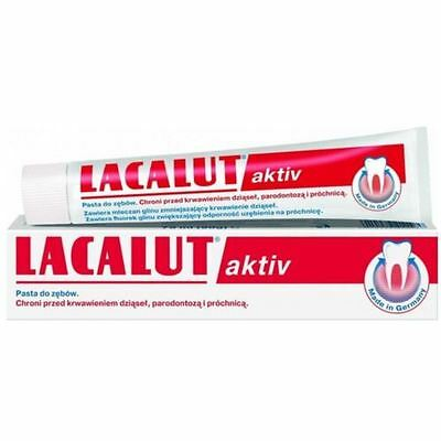 LACALUT AKTIV Medical Toothpaste 75ml FREE DELIVERY