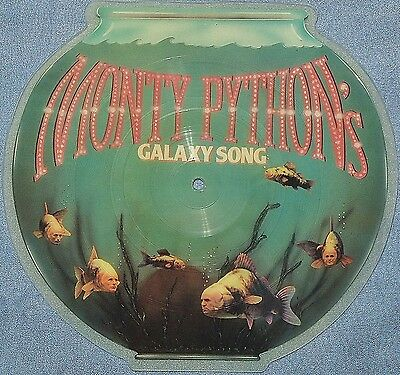 Monty Python Picture Disc Galaxy Song Every Sperm is Sacred 1983   AMR