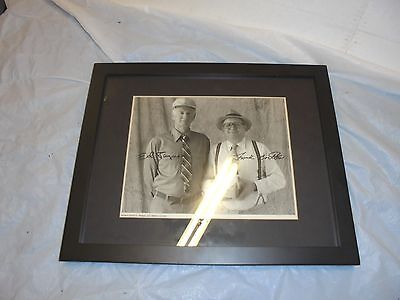 framed & matted photo ed jaymes & frank bartles wine coolers bar mancave decor