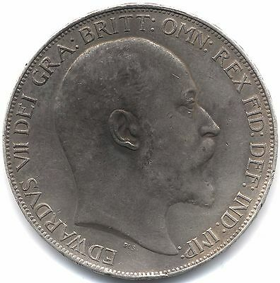1902 Edward VII Silver Crown***Collectors***