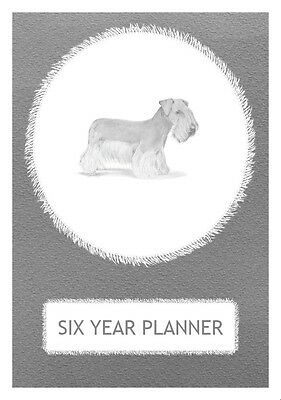 Cesky Terrier Dog Show Six Year Planner/Diary by Curiosity Crafts 2017-2022