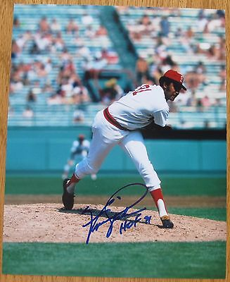 Ferguson Jenkins Boston Red Sox signed 8x10 photo