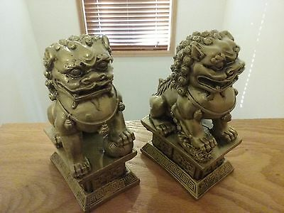 Chinese dragon bookends