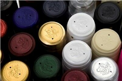 Shrink Capsules caps to seal smart wine bottles. Choice of colours Packs of 100.