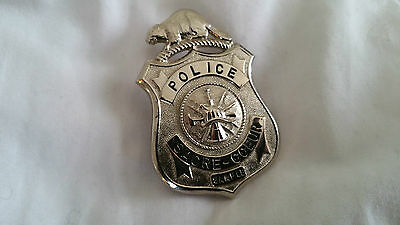 Canada QC Sacre-Coeur Police Public Safety Obsolete Vintage Badge Shield Insigne
