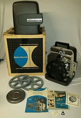 Bell & Howell Model 346A Autoload Super 8 Movie Projector Vintage