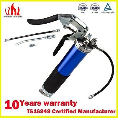 New Hot sell 4,500 PSI Anodized Pistol Grip Grease Gun Air Cordless Tool Blue