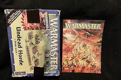 Incomplete Warmaster Undead Horde Army Pack Oop Used:no Tomb King/liche Priest