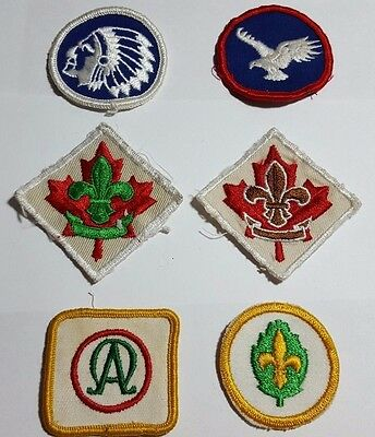 Assorted Boy Scouts Of Canada shoulder Badges