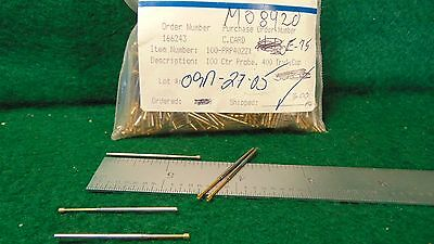 (50) QA Technology 100-PRP4022X 100 Ctr Probe, 400 Trvl, Cup NOS