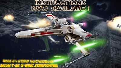 LEGO Star Wars X-Wing Fighter- Instructions