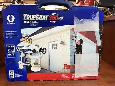 Brand New Graco Truecoat 360 Vsp True Airless Paint Sprayer #17D889