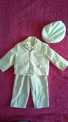 New Boys Christening, Birthday, Party, Weddings Suit- 5 Pieces ( 12 - 36 Months}