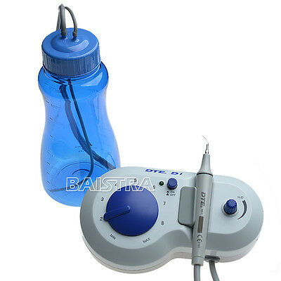 US Woodpecker Dental Ultrasonic Scaler DTE D1 & Auto Water Supply System Blue