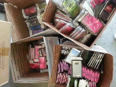 x100 Cell Phone Case Covers 100 LOT wholesale Apple Samsung HTC Blackberry LG