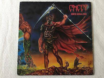 Cancer - Death Shall Rise - Rare Orig Vinyl Lp, With Inner, 1991, Death Metal