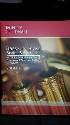 New Bass Clef Brass - Scales&exercises  Grades 1-8