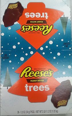 Box of Reeses Peanut Butter Holiday Trees - 36 Pack