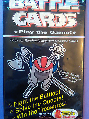 Collector cards; BATTLE CARDS , ONE Sealed Pack