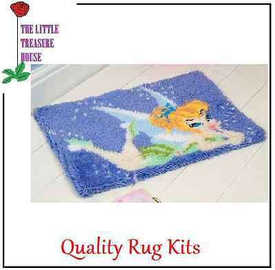 Fairy Printed Canvas Latch Hook Rug Kit - *NEW* Everything included