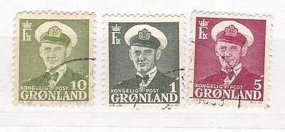 Greenland. Three stamps