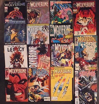 Wolverine #50, 19, 30, more.....large lot of 15 Marvel Comics