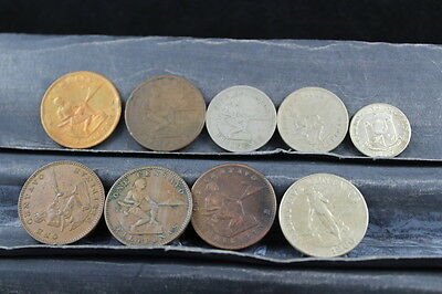 Philippines  9 assorted coins  lot G 607