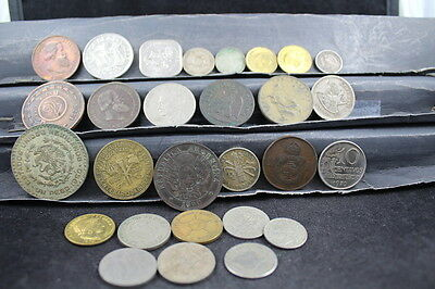 South & Central Americas 28 assorted coins  lot G 553
