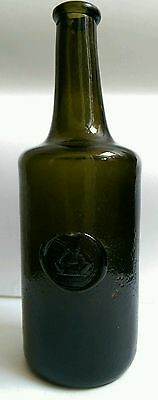 Antique Wine Bottle with Seal c.1770