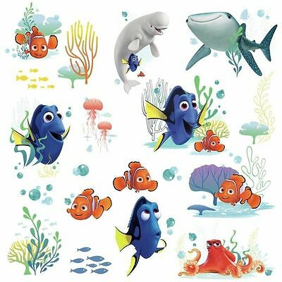 19 Disney FINDING DORY Nemo Bailey Fish Wall Decals Tropical Bathroom  Stickers