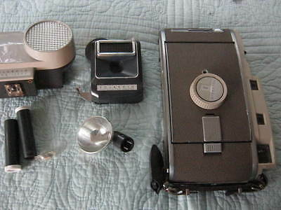 110A Polaroid Camera Set in the Carrying Case