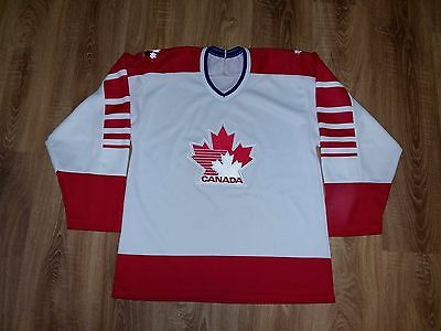 Canada National Team very rare vintage 1988 CCM NHL Hockey jersey size M-L