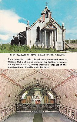 Orkney - The Italian Chapel, Lamb Holm Colour Postcard