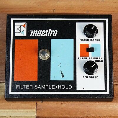MAESTRO FSH-1 FILTER SAMPLE / HOLD Rare 70s Vintage Guitar Pedal Great Condition