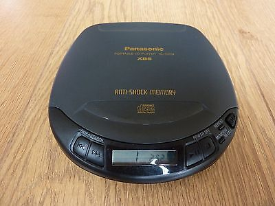Panasonic Vintage Portable Compact Disc Player SL-S200 Made in Japan R1