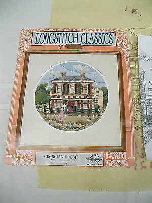 SEMCO LONGSTITCH CLASSICS KIT NO. 3240-0001 GEORGIAN HOUSE (not started)