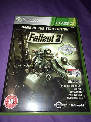 Fallout 3 Game Of The Year Edition Xbox 360 & Xbox One Compatible