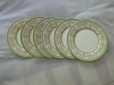 Portland Pottery, Cobridge, Side Plates (6) 1950's