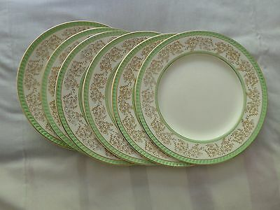 Portland Pottery, Cobridge, Medium Plates (6) 1950's