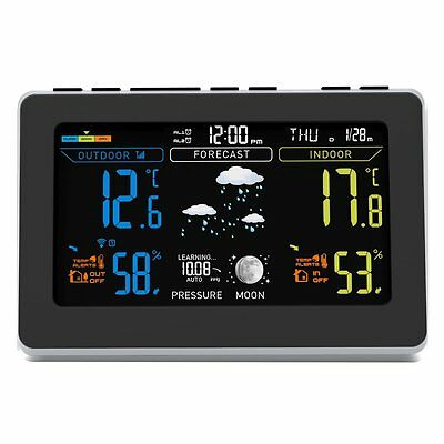 Oria Digital Temperature Humidity Meter Thermometer, Wireless Weather Station