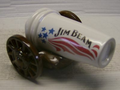 Jim Beam 32th Convention Philadelphia Cannon Decanter 2002 1 of only 400 made