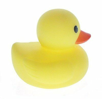 MYLIFEUNIT 4 inch Yellow Rubber Bath Ducks for Child