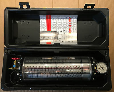 ROBINAIRE Dial-A-Charge 10 LB. Heated Charging Cylinder 43808b New Unused
